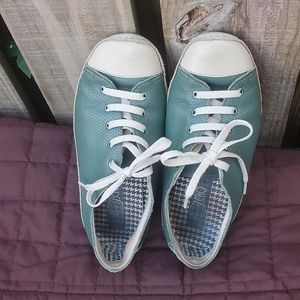 Shoes - Rare Leather vintage non slip soft sole Sneakers